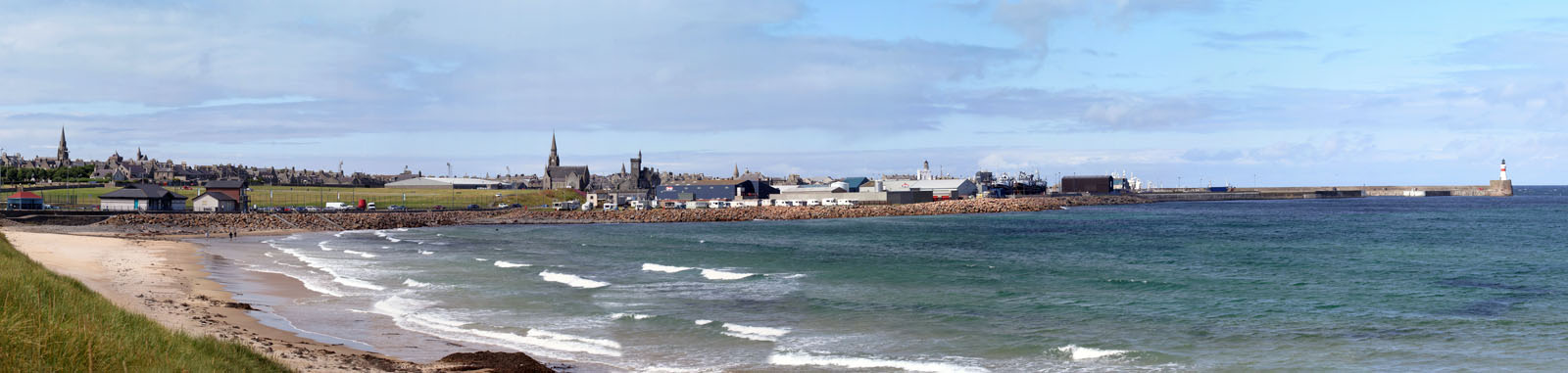 FRBRGH001 : The fishing town of Fraserburgh